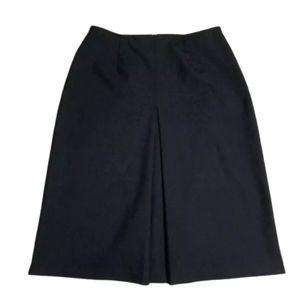Eddie Bauer Black Skirt women sz 18